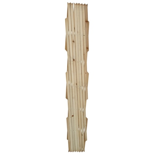 Setembro 5 pcs cerca com treliça extensível de madeira 180 x 90 centímetros