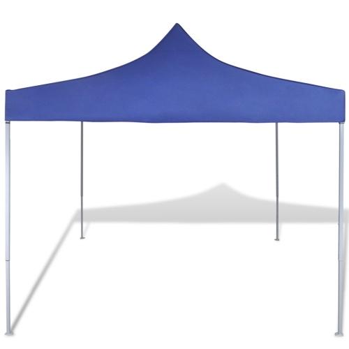 Tenda Pieghevole Blu 3 x 3 m