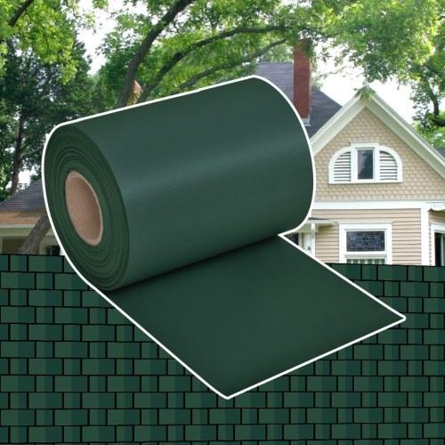 Recinto Privacy Frangivento PVC Intrecciato Verde a Rullo 70 x 0,19 m