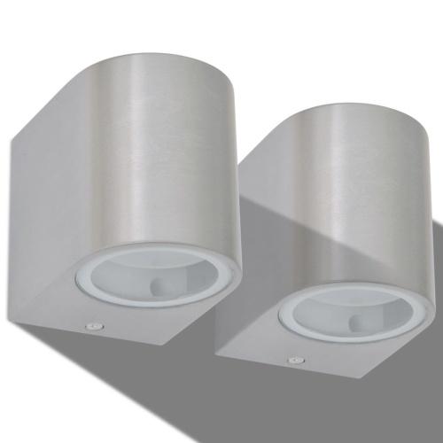 Настенный светодиодный круглый настенный светильник для наружного 2pc Low Projection