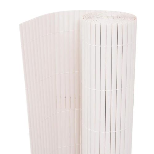 90x300 cm Double Garden Fencing White