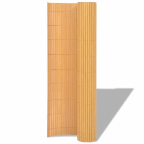 90x500 cm Double Garden Fencing Yellow