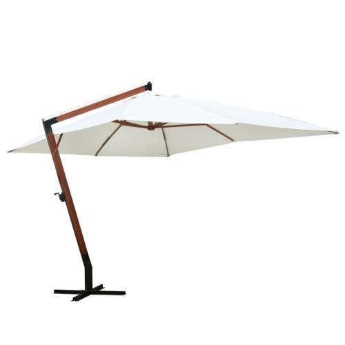 """Зонтик 118.1 """"x157.5"""" Белый"""