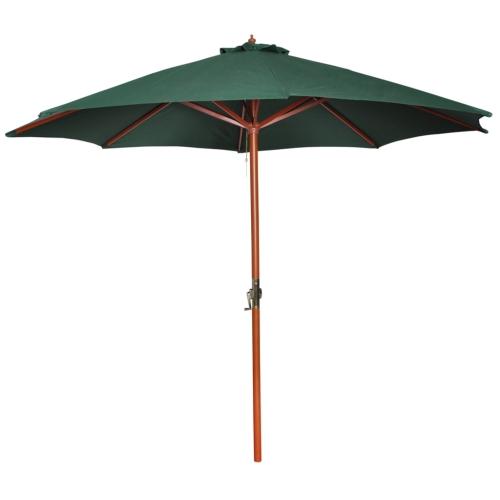 Зонтик зеленый 258 см.