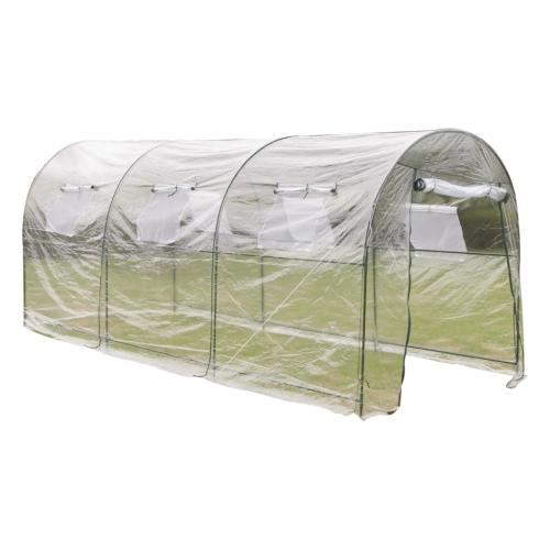 Пластиковые парниковых парниковых парниковых растений Дом