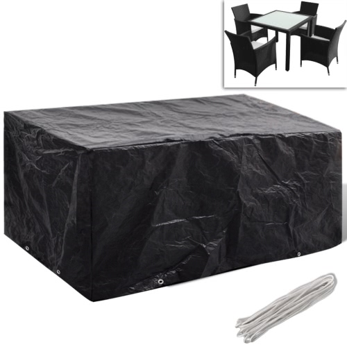 Tarpaulin Furniture Polirattan with 8 Eyelets 180 x 140cm