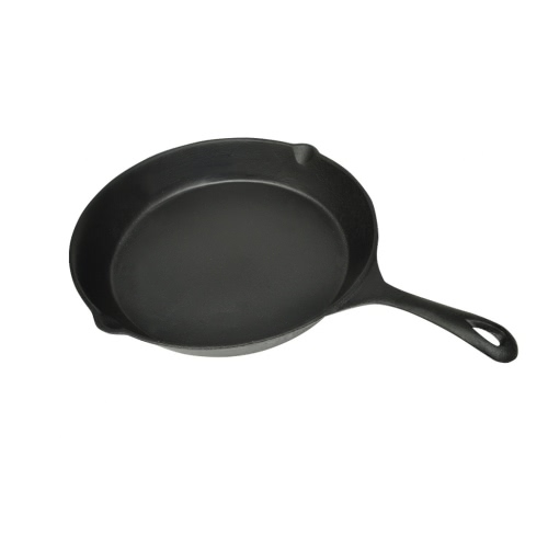 XL torréfaction BBQ and Steak poêle en fonte 31 cm