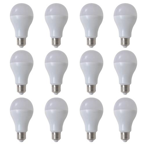 Warm White Lamp Bulb 12 pcs 7 W E27 LED