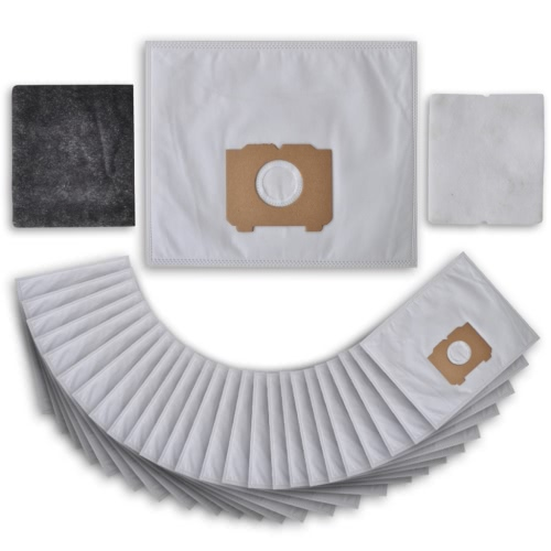 25 pcs Vacuum Cleaner Bag with Filters for AEG, Progress, Tornado