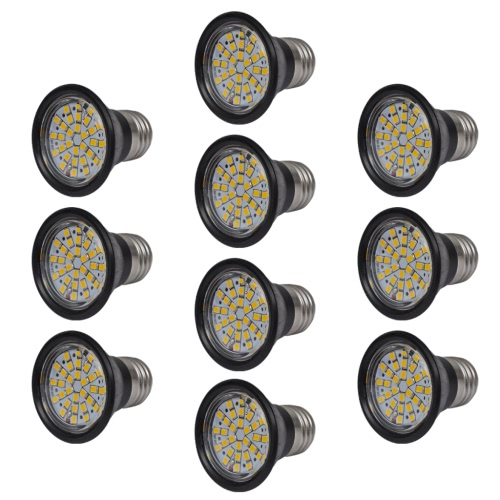10x Spotlight Set LED 3W E27 Lampe