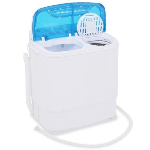 Мини-стиральная машина с рогаткой и 2 камеры 5,6 кг