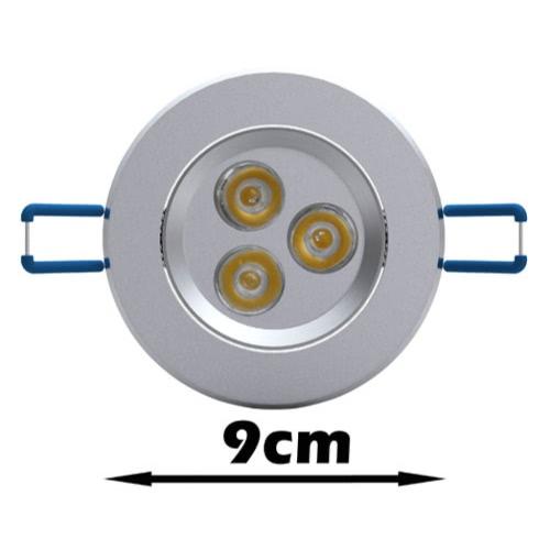 LED Spotlight 3 W 12 pcs