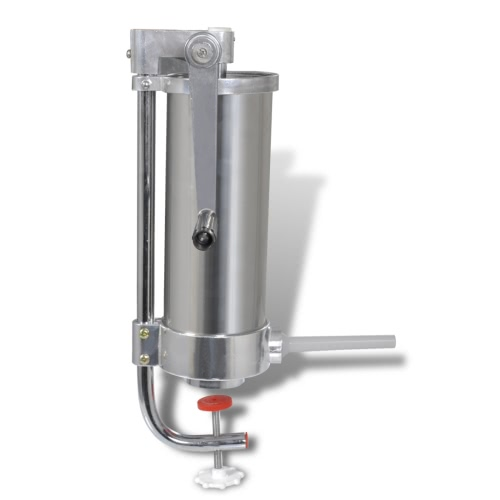 Manual Stainless Steel Vertical Sausage Stuffer 3,5L