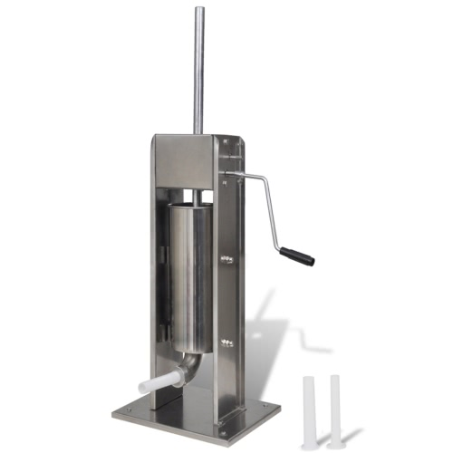 Stainless Steel Vertical Sausage Stuffer/Sausage Filler 5 L