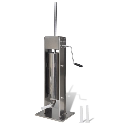 Stainless Steel Vertical Sausage Stuffer/Sausage Filler 7 L