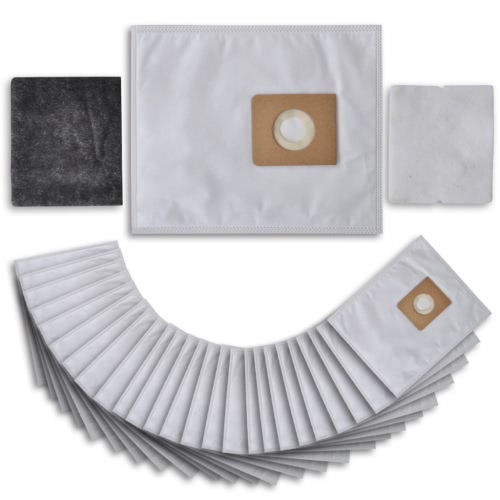 25 pcs Vacuum Cleaner Bag with Filters for Nilfisk