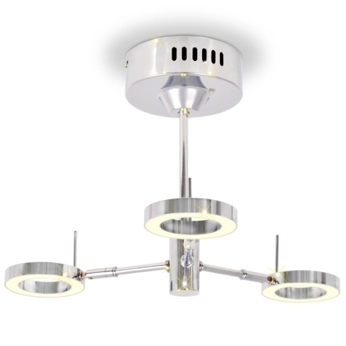Светодиодная потолочная лампа с 3-мя лампами Теплый белый