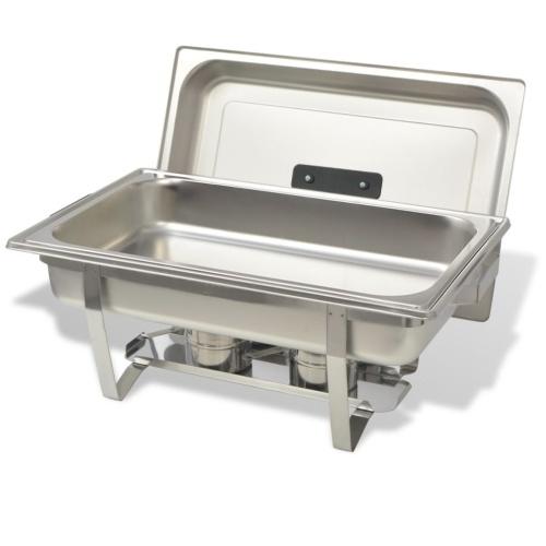 Two Piece Chafing Dish Set из нержавеющей стали