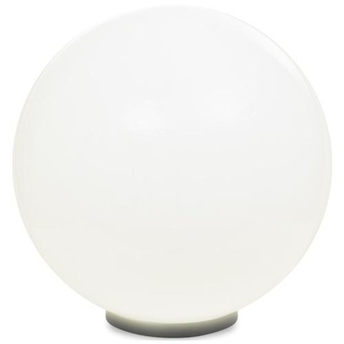 Lampada da giardino a sfera E27 50 cm in PMMA
