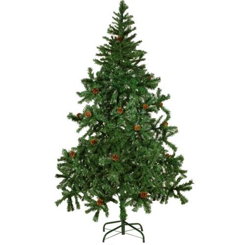 Künstlicher Weihnachtsbaum 180 cm mit Tannenzapfen