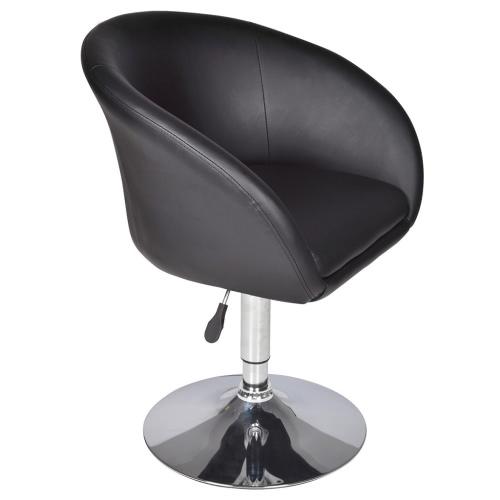 taburete silla de salón-Lyon, negro