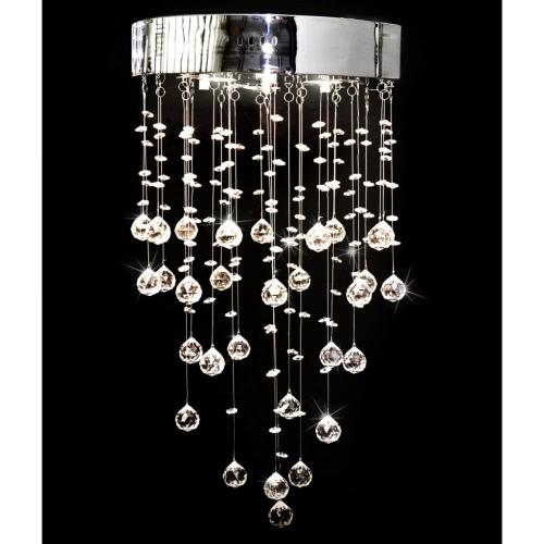 Lampe en cristal avec 180 véritables cristaux de verre ROYAL