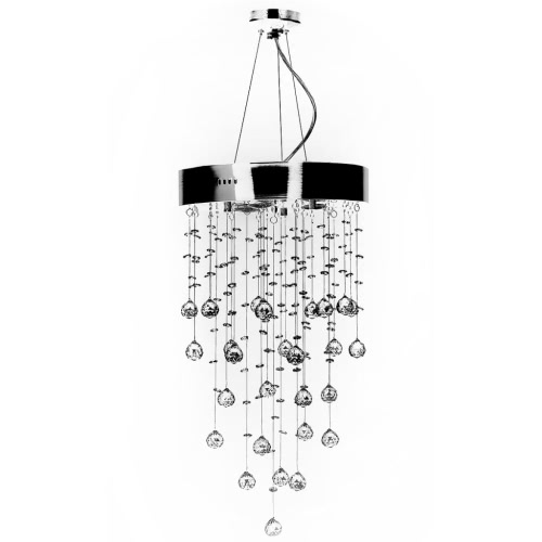 Chandelier 180 Crystals Pendant Ceiling Lamp