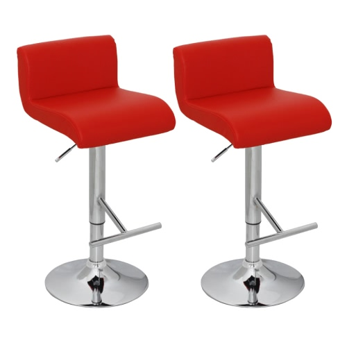 2 Red Kitchen Taburetes de bar Eco-Leather de Cape Cod