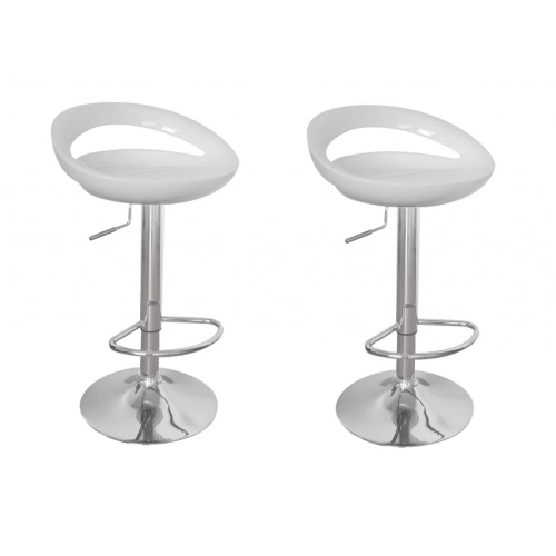Bar Stool Miami White (set of 2)