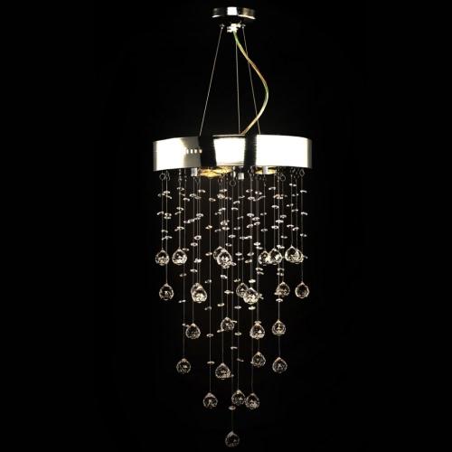 Chandelier 180 Crystals Pendant Ceiling Lamp