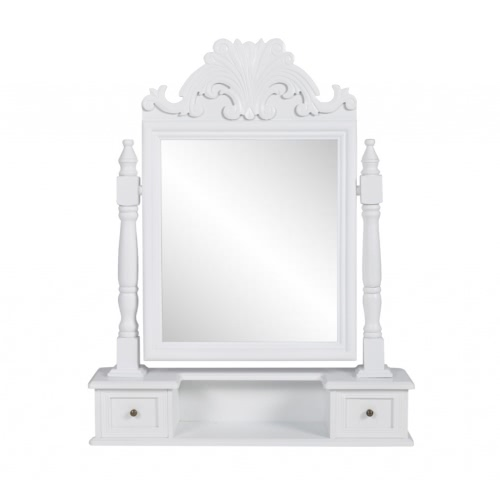 Тщеславие Макияж стол с Свинг зеркало MDF