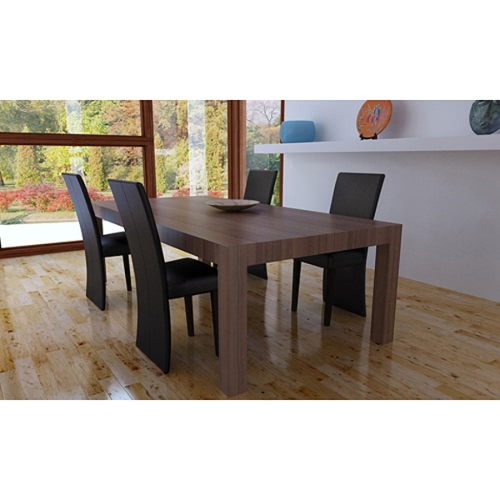 modern kitchen and synthetic leather dining chairs 4 coffee set