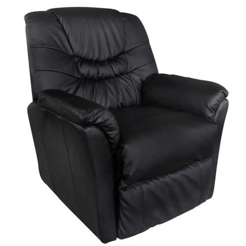 Massage-Stuhl Schwarz