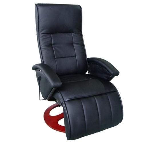 Silla de masaje eléctrico negro Altura del asiento 46cm