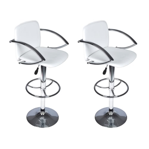 2 Stools-Chair Kitchen or Bar Liege with Footstools