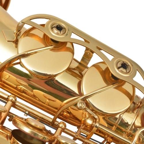 Sassofono contralto Ottone giallo con lacca dorata Eb