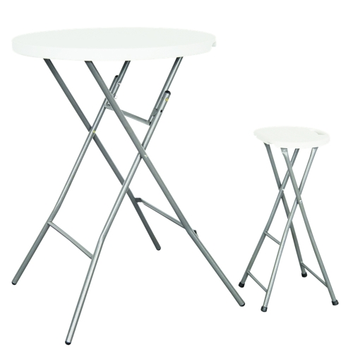 Table Bar 80cm White от Tomtop.com INT