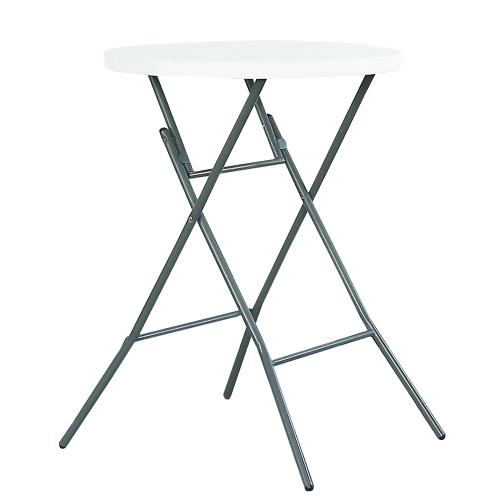Tisch Bar  Barhocker 80cm Weiß