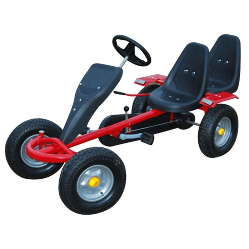 Red Pedal Go-Kart Two Seats