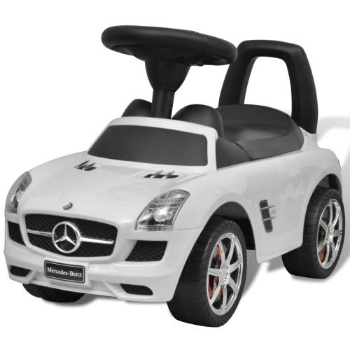 Mercedes Benz glisse auto pour enfant blanc