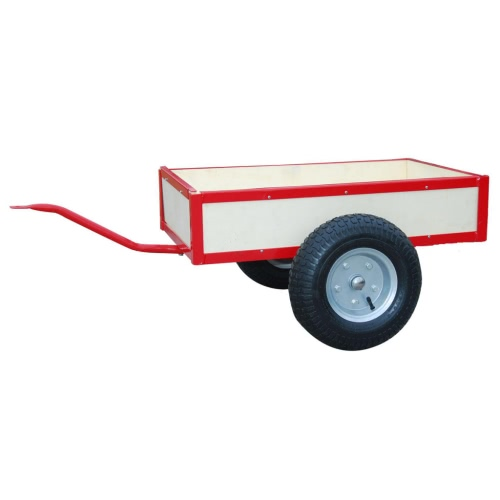 Red Trailer for Go-Kart