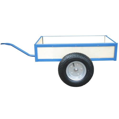 Blue Trailer for Go-Kart