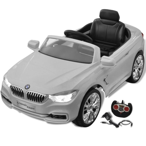 BMW Battery-Powered Kids Car with Remote Control White