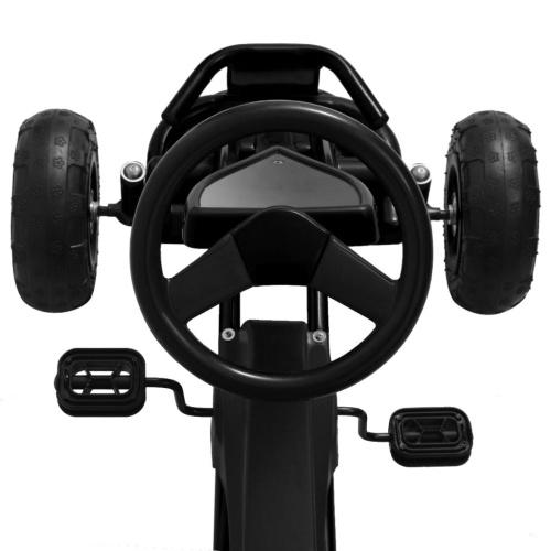 Pedal Go-Kart con pneumatici Pneumatici neri
