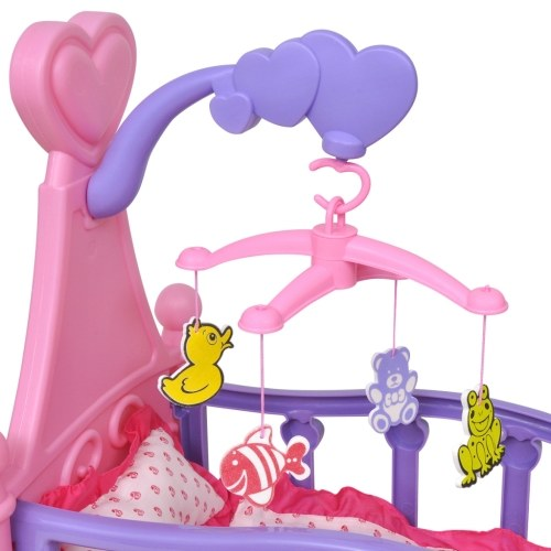 doll bed Pink + Purple