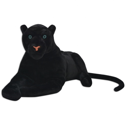 Panther Plush Black XXL