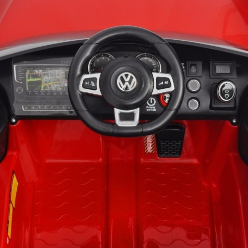 electric machine vw golf gti 7 red 12 v with remote control