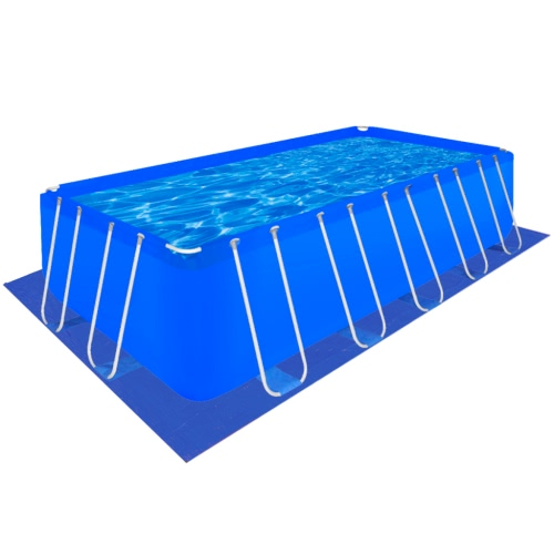 Pool Ground Cloth PE Pool Sheet Rectangular for 540 x 270 cm