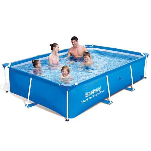 Bestway Steel Pro Rectangular Swimming Pool 259 * 170 * 61cm