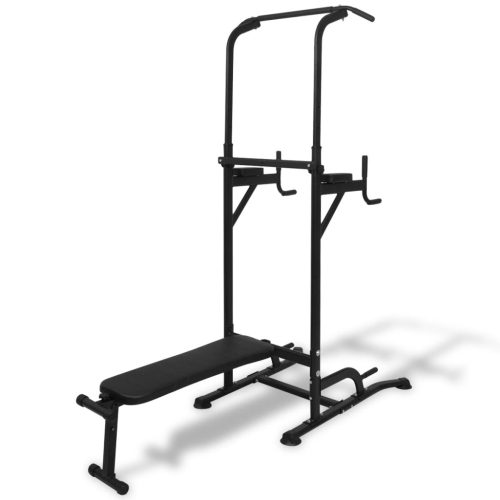 Power Tower con panca Sit-up